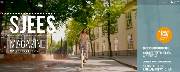 Sjees Magazine - over fiets & lifestyle
