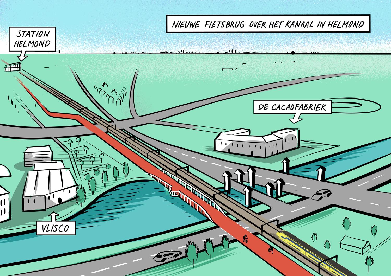 Zuid-Willemsvaart fietsbrug