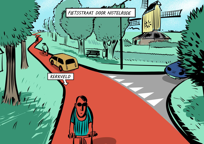 Nistelrode snelfietsroute